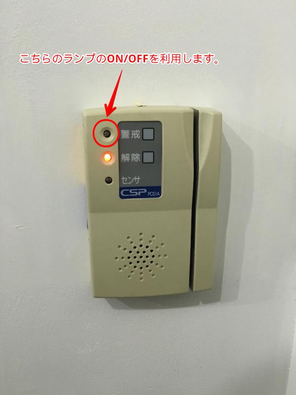 オフィスのセキュリティ装置